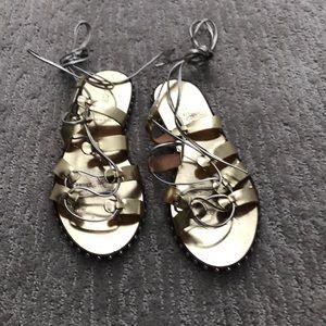 J.Crew gladiator sandals size 8